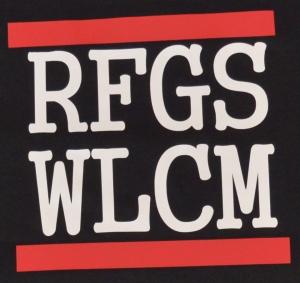 Detailansicht Fairtrade T-Shirt: RFGS WLCM