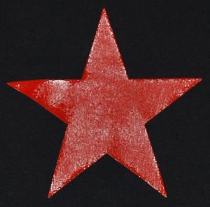 Detailansicht Top / Trägershirt: Roter Stern