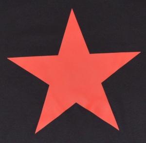 Detailansicht Fairtrade T-Shirt: Roter Stern