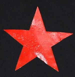 Detailansicht Kapuzen-Jacke: Roter Stern