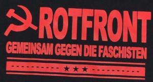 Detailansicht T-Shirt: Rotfront - Gemeinsam gegen die Faschisten