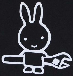 Detailansicht Girlie-Shirt: Sabotagehase
