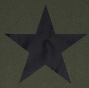 Detailansicht T-Shirt: Schwarzer Stern