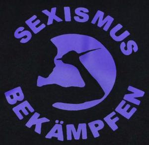 Detailansicht Woman Tanktop: Sexismus bekämpfen