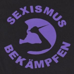 Detailansicht Fairtrade T-Shirt: Sexismus bekämpfen