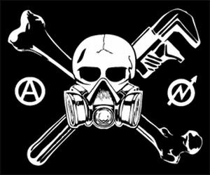 Detailansicht Polo-Shirt: Skull - Gasmask