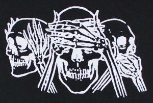 Detailansicht T-Shirt: Skulls
