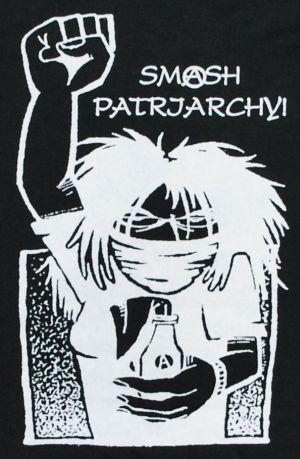 Detailansicht T-Shirt: Smash patriarchy