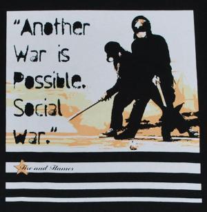 Detailansicht T-Shirt: Social War