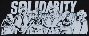 Detailansicht Kapuzen-Pullover: Solidarity