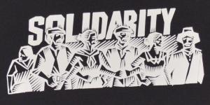 Detailansicht Fairtrade T-Shirt: Solidarity