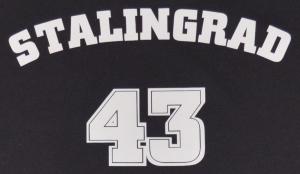 Detailansicht Fairtrade T-Shirt: Stalingrad 43