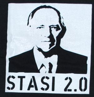 Detailansicht T-Shirt: Stasi 2.0
