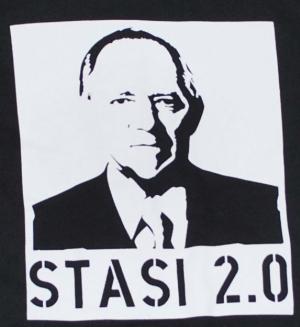 Detailansicht Kapuzen-Jacke: Stasi 2.0