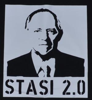 Detailansicht Man Tanktop: Stasi 2.0