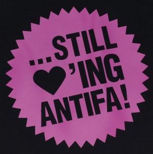 Detailansicht Woman Tanktop: Still loving Antifa
