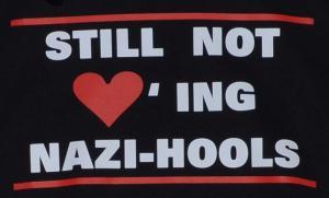 Detailansicht Kapuzen-Pullover: Still not loving Nazi-Hools