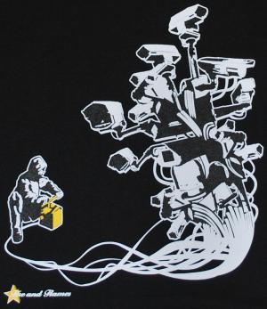 Detailansicht T-Shirt: Stop Control black