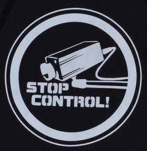 Detailansicht Kapuzen-Pullover: Stop Control Kamera