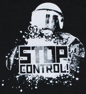 Detailansicht Longsleeve: Stop Control