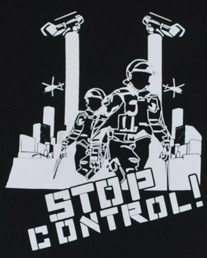 Detailansicht Kapuzen-Longsleeve: Stop Control