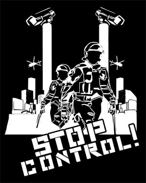 Detailansicht T-Shirt: Stop Control