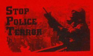 Detailansicht T-Shirt: Stop Police Terror