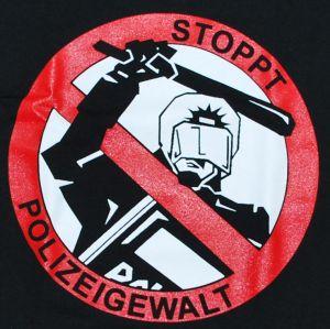 Detailansicht T-Shirt: Stoppt Polizeigewalt