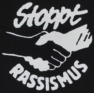 Detailansicht Girlie-Shirt: Stoppt Rassismus