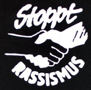 Detailansicht Trägershirt: Stoppt Rassismus