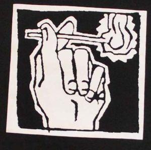Detailansicht T-Shirt: Streichholz