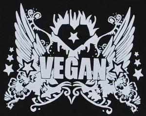 Detailansicht Girlie-Shirt: Vegan