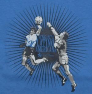 Detailansicht tailliertes T-Shirt: Venganza Latinoamericana