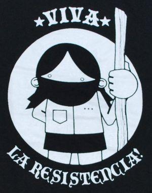 Detailansicht T-Shirt: Viva la Resistencia!