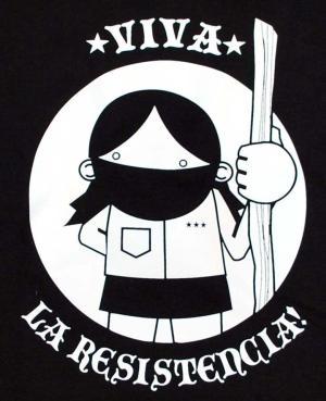 Detailansicht Woman Tanktop: Viva la Resistencia!