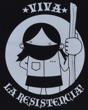 Detailansicht Man Tanktop: Viva la Resistencia!