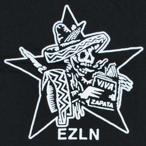 Detailansicht T-Shirt: Zapatistas Stern EZLN