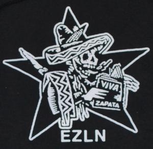 Detailansicht Kapuzen-Pullover: Zapatistas Stern EZLN