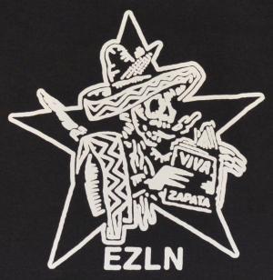 Detailansicht Top / Trägershirt: Zapatistas Stern EZLN