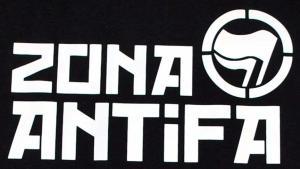 Detailansicht Girlie-Shirt: Zona Antifa