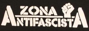 Detailansicht Girlie-Shirt: Zona Antifascista