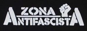 Detailansicht Kapuzen-Pullover: Zona Antifascista