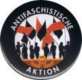 """Zum 25mm Button """"Antifaschistische Aktion - Fahnen"""" für 0,70 € gehen."""