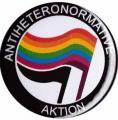 """Zum 25mm Button """"Antiheteronormative Aktion"""" für 0,70 € gehen."""