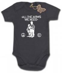 """Zum Babybody """"All the Arms we need"""" für 9,90 € gehen."""