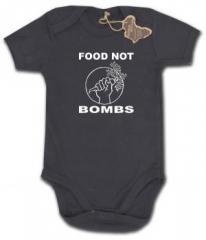 """Zum Babybody """"Food Not Bombs"""" für 9,90 € gehen."""