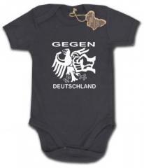 """Zum Babybody """"Gegen Deutschland"""" für 9,90 € gehen."""