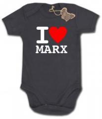"""Zum Babybody """"I love Marx"""" für 9,90 € gehen."""