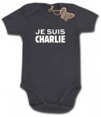 """Zum Babybody """"Je suis Charlie"""" für 9,90 € gehen."""