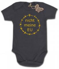 """Zum Babybody """"nicht meine EU"""" für 9,90 € gehen."""